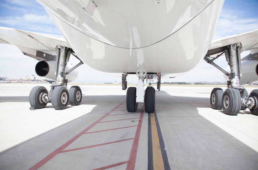Avión ruedas