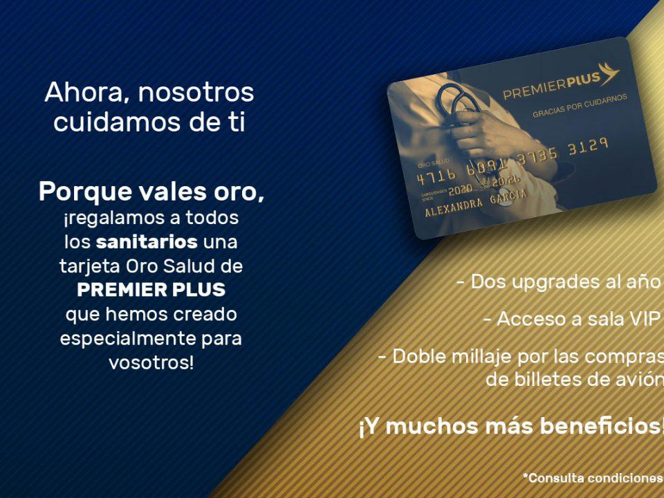 Regalamos tarjeta Oro Salud