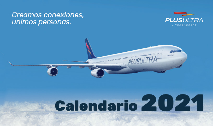 Calendario 2021 Plus Ultra