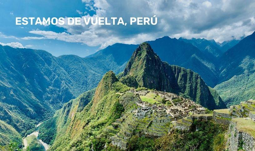 Reinicio vuelos a Perú