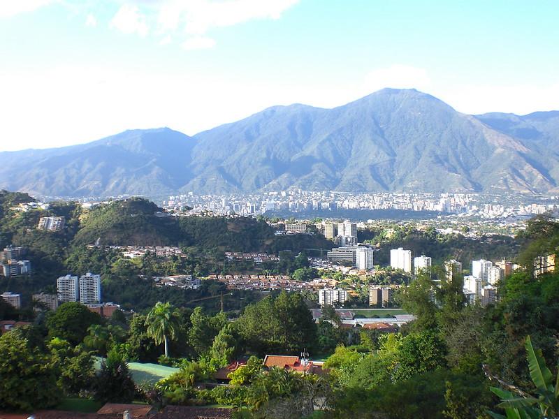 Caracas, cerro verde
