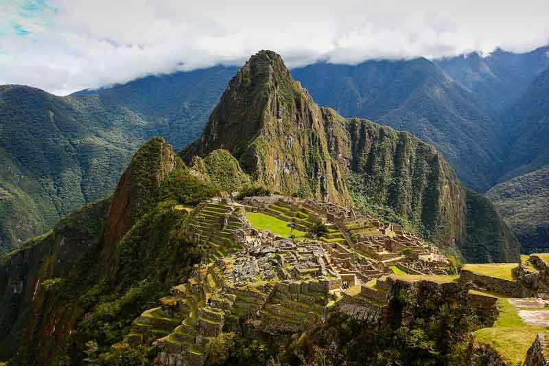 A qué altura está Machu Picchu