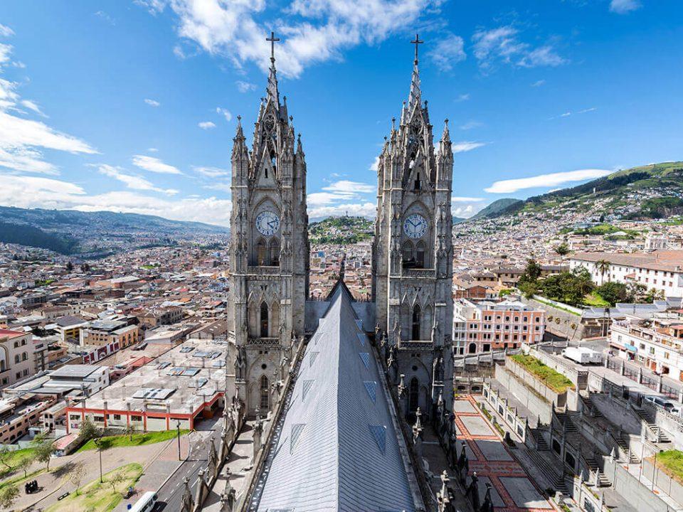 Quito Basílica Voto Nacional